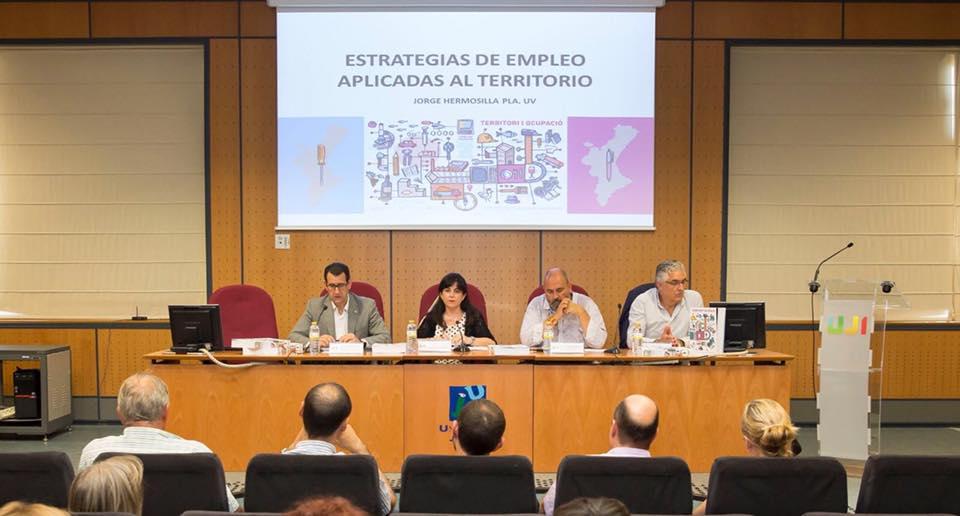 La UJI acoge la presentación de los resultados del diagnóstico territorial de empleo del programa «Avalem Territori»